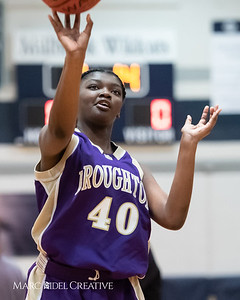 Broughton JV girls basketball vs Millbrook. January 22, 2019. 750_5509