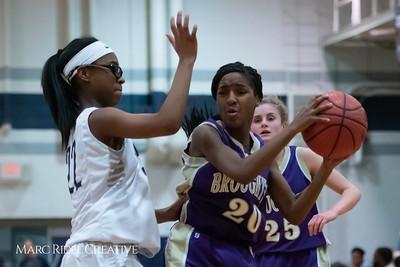 Broughton JV girls basketball vs Millbrook. January 22, 2019. 750_5732