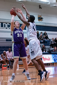 Broughton JV girls basketball vs Millbrook. January 22, 2019. 750_5555