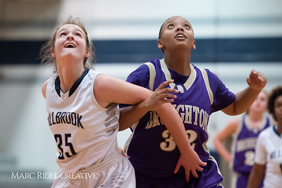 Broughton JV girls basketball vs Millbrook. January 22, 2019. 750_5705