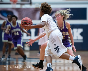 Broughton JV girls basketball vs Millbrook. January 22, 2019. 750_5648