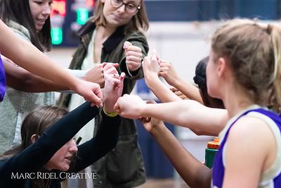 Broughton JV girls basketball vs Millbrook. January 22, 2019. MRC_1792