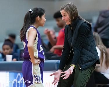 Broughton JV girls basketball vs Millbrook. January 22, 2019. 750_5670
