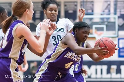 Broughton JV girls basketball vs Millbrook. January 22, 2019. MRC_1800