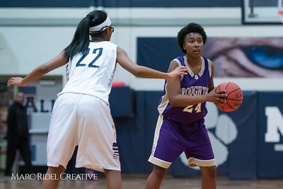 Broughton JV girls basketball vs Millbrook. January 22, 2019. 750_5643