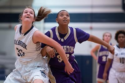 Broughton JV girls basketball vs Millbrook. January 22, 2019. 750_5704