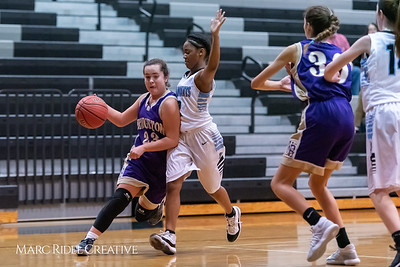 Broughton girls JV basketball at Panther Creek. January 3, 2019. 750_0561