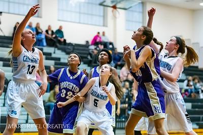 Broughton girls JV basketball at Panther Creek. January 3, 2019. 750_0456