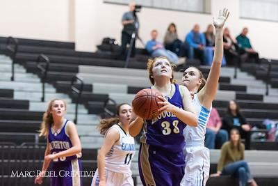 Broughton girls JV basketball at Panther Creek. January 3, 2019. 750_0584
