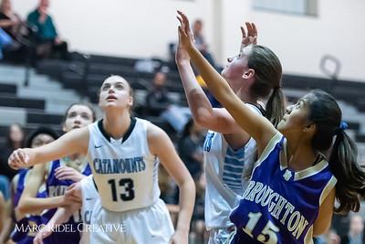 Broughton girls JV basketball at Panther Creek. January 3, 2019. 750_0517