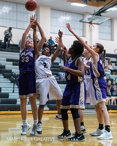 Broughton girls JV basketball at Panther Creek. January 3, 2019. 750_0507