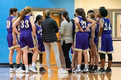 Broughton girls JV basketball at Panther Creek. January 3, 2019. 750_0543