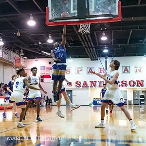 Broughton boys varsity basketball vs Sanderson. February 12, 2019. 750_6201