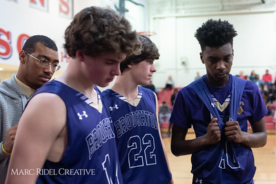 Broughton boys varsity basketball vs Sanderson. February 12, 2019. 750_6385