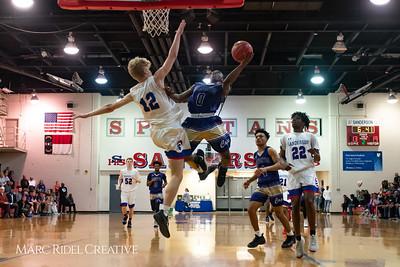 Broughton boys varsity basketball vs Sanderson. February 12, 2019. 750_6271