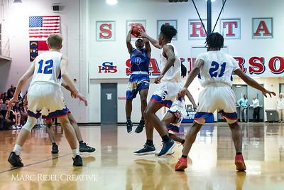 Broughton boys varsity basketball vs Sanderson. February 12, 2019. 750_6236