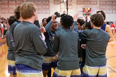 Broughton boys varsity basketball vs Sanderson. February 12, 2019. 750_6181
