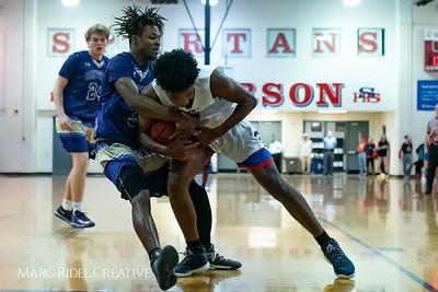 Broughton boys varsity basketball vs Sanderson. February 12, 2019. 750_6245