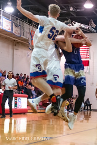 Broughton boys varsity basketball vs Sanderson. February 12, 2019. 750_6305