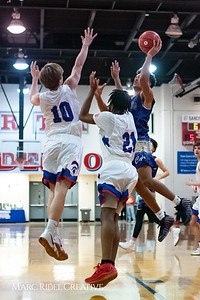 Broughton boys varsity basketball vs Sanderson. February 12, 2019. 750_6193