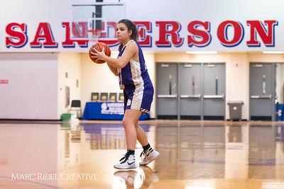 Broughton girls varsity basketball vs Sanderson. February 12, 2019. 750_5846