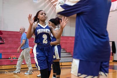 Broughton girls varsity basketball vs Sanderson. February 12, 2019. 750_5831