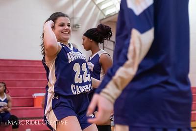 Broughton girls varsity basketball vs Sanderson. February 12, 2019. 750_5817
