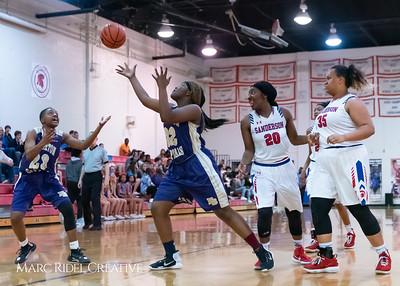 Broughton girls varsity basketball vs Sanderson. February 12, 2019. 750_5977