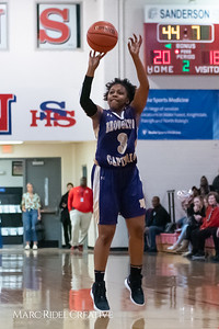 Broughton girls varsity basketball vs Sanderson. February 12, 2019. 750_5960