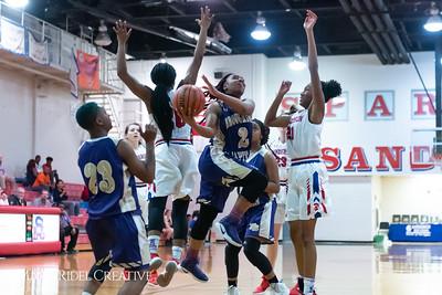 Broughton girls varsity basketball vs Sanderson. February 12, 2019. 750_5951