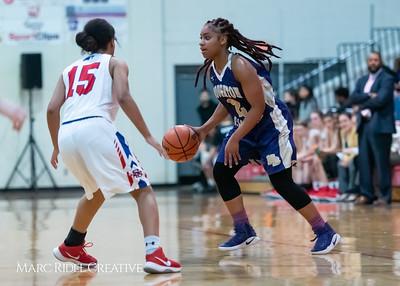 Broughton girls varsity basketball vs Sanderson. February 12, 2019. 750_5995