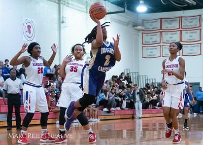Broughton girls varsity basketball vs Sanderson. February 12, 2019. 750_5983