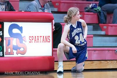 Broughton girls varsity basketball vs Sanderson. February 12, 2019. 750_5881