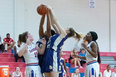 Broughton girls varsity basketball vs Sanderson. February 12, 2019. 750_5867