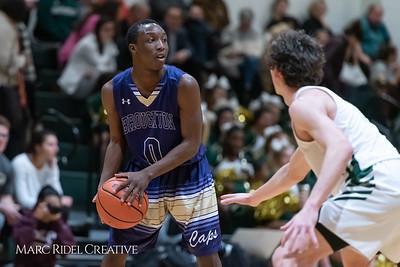 Broughton boys varsity basketball vs Cardinal Gibbons. January 11, 2019. 750_2484