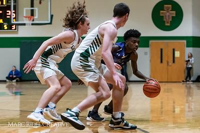 Broughton boys varsity basketball vs Cardinal Gibbons. January 11, 2019. 750_2541