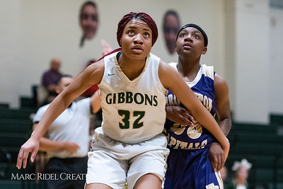 Broughton girls varsity basketball vs Cardinal Gibbons. January 11, 2019. 750_2029