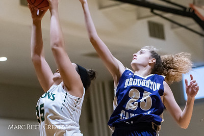 Broughton girls varsity basketball vs Cardinal Gibbons. January 11, 2019. 750_2085