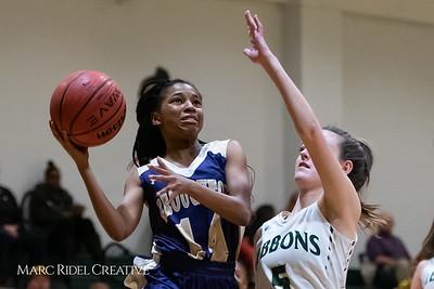 Broughton girls varsity basketball vs Cardinal Gibbons. January 11, 2019. 750_2045