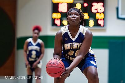 Broughton girls varsity basketball vs Cardinal Gibbons. January 11, 2019. 750_2106