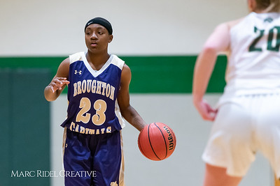 Broughton girls varsity basketball vs Cardinal Gibbons. January 11, 2019. 750_2032