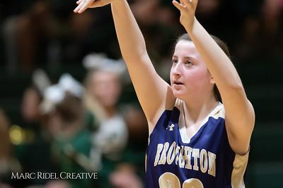 Broughton girls varsity basketball vs Cardinal Gibbons. January 11, 2019. 750_2141