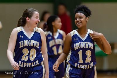 Broughton girls varsity basketball vs Cardinal Gibbons. January 11, 2019. 750_2133
