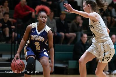 Broughton girls varsity basketball vs Cardinal Gibbons. January 11, 2019. 750_2122