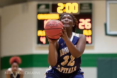 Broughton girls varsity basketball vs Cardinal Gibbons. January 11, 2019. 750_2112