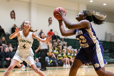 Broughton girls varsity basketball vs Cardinal Gibbons. January 11, 2019. 750_2033