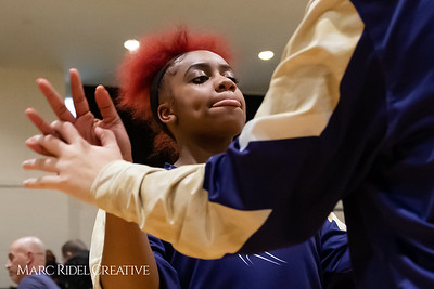Broughton girls varsity basketball vs Cardinal Gibbons. January 11, 2019. MRC_1224