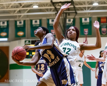 Broughton girls varsity basketball vs Cardinal Gibbons. January 11, 2019. 750_2075