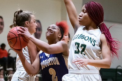 Broughton girls varsity basketball vs Cardinal Gibbons. January 11, 2019. 750_2041