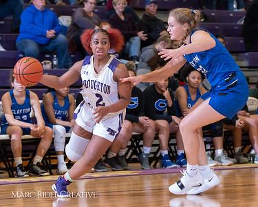 Broughton varsity girls basketball vs Clayton. December 6, 2018, MRC_6338